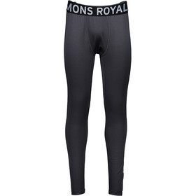 """Mons Royale M's Jon Snow Mid Mid Leggings Black"""
